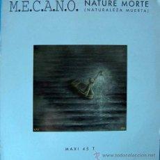 Discos de vinilo: MECANO - NATURE MORTE MAXI / COPIA PROMOCIONAL MADE IN FRANCE - 1991 ARIOLA BMG. Lote 26233296