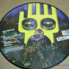 Discos de vinilo: ¡¡NUEVO¡¡ DISCO LP PICTURE SCORPIA CENTRAL DEL SONIDO VINILO. Lote 151688444