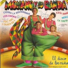 Discos de vinilo: MONANO Y SU BANDA, LP DEL AÑO 1986.... Lote 27209250