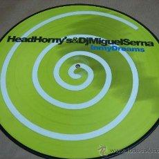 Disques de vinyle: DISCO LP PICTURE HEAD HORNY´S MIGUEL SERNA DJS IN MY DREAMS VINILO. Lote 202317071