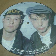 Discos de vinilo: DISCO LP PICTURE PET SHOP BOYS LIMITED EDITION INTERVIEW VINILO. Lote 18766800