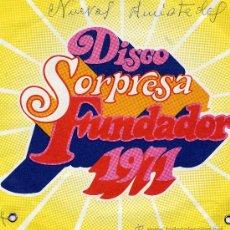 Discos de vinilo: NUEVAS AMISTADES (DISCO SORPRESA FUNDADOR). Lote 12053150