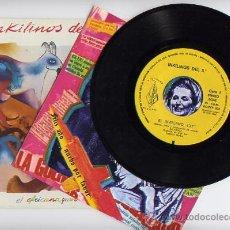 Discos de vinilo: INKILINOS DEL 5º. VINILO SINGLE 45 RPM. EL AFRICANO+YUWO.MUSIKRA AÑO 1984. Lote 27487033