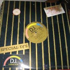 Discos de vinilo: LP. D.J. CONNECTION, ESPECIAL DJ'S. 4 VERSIONES EXTENDIDAS CON TEMAS ORIGINALES. Lote 27267803