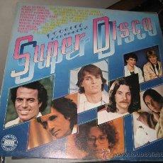 Discos de vinilo: SUPER DISCO CON VERSIONES ORIGINALES DE 1980. JULIO IGLESIAS, PECOS, MIGUEL BOSE, ANA BELEN. . Lote 27297304