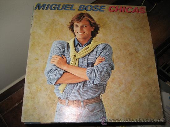 MIGUEL BOSE: LP CHICAS. 1979 (Música - Discos - LP Vinilo - Solistas Españoles de los 50 y 60)