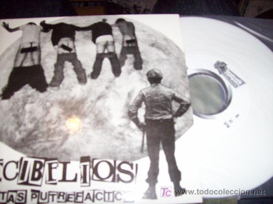DECIBELIOS: PALETAS PUTREFACTOS SINGLE 7 MUNSTER COLOR BLANCO RARÍSIMO (Música - Discos - Singles Vinilo - Punk - Hard Core)