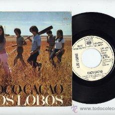 Discos de vinilo: LOS LOBOS.VINILO SINGLE 45 RPM. COCO CACAO.COPIA PROMOCIONAL.CBS AÑO 1972. Lote 27276785