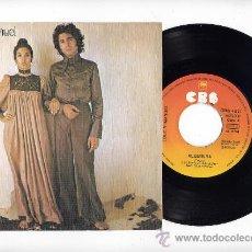 Discos de vinilo: LOLE Y MANUEL.VINILO SINGLE 45 RPM. ALQUIVIRA. CBS AÑO 1976. Lote 27257716