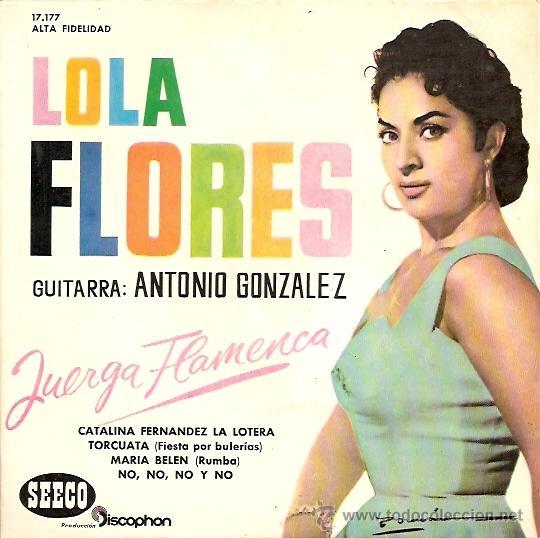 LOLA FLORES EP SELLO SEECO AÑO 1961 (Música - Discos de Vinilo - EPs - Flamenco, Canción española y Cuplé)