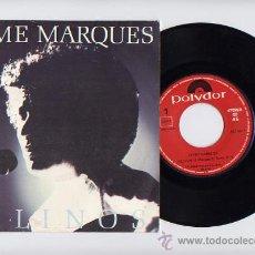 Vinyl records - JAYME MARQUES. VINILO SINGLE 45 RPM. FELINOS. POLYDOR AÑO 1984 - 26922545