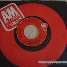 Discos de vinilo: QUINCY JONES ( THERE'S A TRAIN LEAVIN' - AI NO CORRIDA ) USA-1981 SINGLE45 A&M RECORDS. Lote 12129761