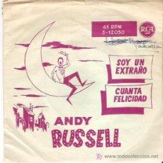 Dischi in vinile: ANDY RUSSELL - SOY UN EXTRAÑO *** RCA RARO ESPAÑA. Lote 12129784