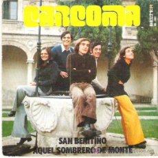 Discos de vinilo: CARCOMA - SAN BENITIÑO *** 1974 BELTER. Lote 12129791