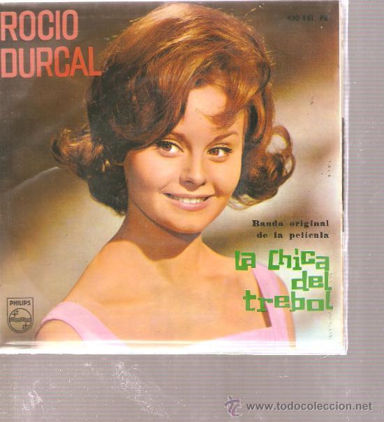EP ROCIO DURCAL - TREBOLE + 3 (Música - Discos de Vinilo - EPs - Solistas Españoles de los 50 y 60)