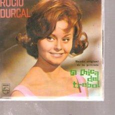 Discos de vinilo: EP ROCIO DURCAL - TREBOLE + 3. Lote 26445850