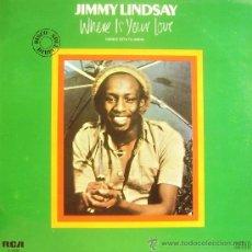 Discos de vinilo: JIMMY LINDSAY-WHERE IS YOU LOVE LP 1980 SPAIN. Lote 12154910