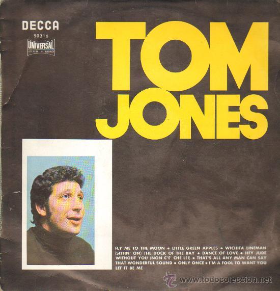 TOM JONES ... LP (Música - Discos - LP Vinilo - Pop - Rock - Extranjero de los 70)