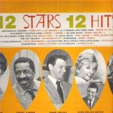 Discos de vinilo: 12 STARS 12 HITS - SERIE CLUB LP 1967 CBS - RARO. Lote 19075818