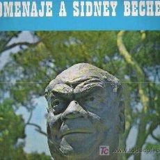 Discos de vinilo: HOMENAJE A SIDNEY BECHET - SIDNEY BECHET ** MARFER 1965 LP. Lote 13087995