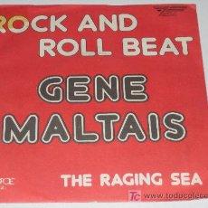 Discos de vinilo: GENE MALTAIS - ROCK AND ROLL BEAT . Lote 12192126
