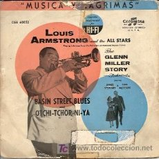 Discos de vinilo: LOUIS ARMSTRONG AND THE ALL STARS . GLEM MILLER STORY. Lote 12238434