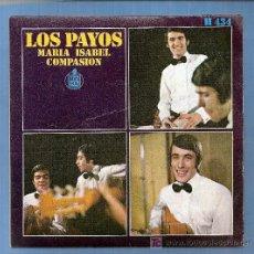 Discos de vinilo: LOS PAYOS. Lote 12239257