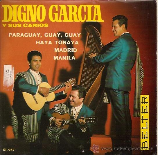DIGNO GARCIA Y SUS CARIOS EP SELLO BELTER AÑO 1969 (Música - Discos de Vinilo - EPs - Grupos y Solistas de latinoamérica)