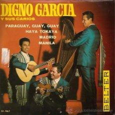 Discos de vinilo: DIGNO GARCIA Y SUS CARIOS EP SELLO BELTER AÑO 1969. Lote 12192107