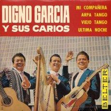 Discos de vinilo: DIGNO GARCIA Y SUS CARIOS EP SELLO BELTER AÑO 1965. Lote 12192112