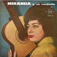 Discos de vinilo: MIRANDA Y SU CONJUNTO EP SELLO MARFER AÑO 1964. Lote 12192137