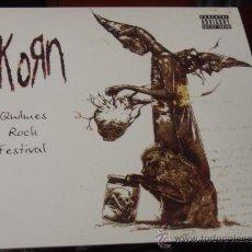Disques de vinyle: LP. KORN - QUILMES ROCK FESTIVAL NUEVO PRECINTADO. Lote 57771886