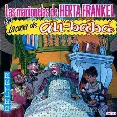 Discos de vinilo: EP LAS MARIONETAS DE HERTA FRANKEL LA CUEVA DE ALI BABA. Lote 12200822
