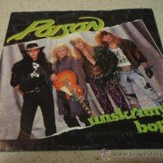 Discos de vinilo: POISON ( SWAMP JUICE - UNSKINNY POP - VALLEY OF LOST SOULS ) 1990 SINGLE45 ENIGMA. Lote 12201205