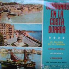 Discos de vinilo: SARDANAS EN LA COSTA BRAVA : EL SALTIRÓ DE LA CARDINA; CAVALLERESCA; LLEVANTINA; L'EMPORDA. 1964. Lote 12209989