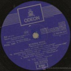 Discos de vinilo: RUBBER SOUL. THE BEATLES.EMI ODEON. 1966. Lote 23765471