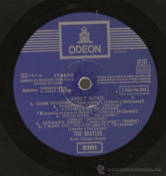 Discos de vinilo: beatles. abbey road. 1969 - Foto 2 - 184493866