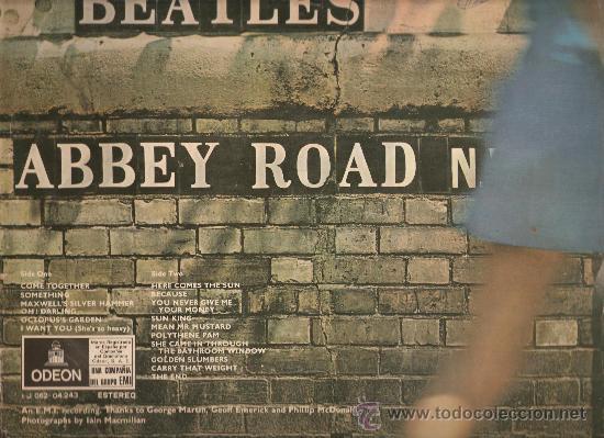 Discos de vinilo: beatles. abbey road. 1969 - Foto 3 - 184493866