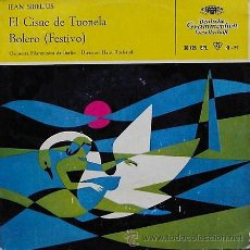 Disques de vinyle: DV0477.- JEAN SIBELIUS. ORQUESTA FILARMONICA DE BERLIN. Lote 27255259