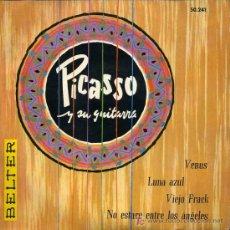 Discos de vinilo: MARCELLO PICASSO - LUNA AZUL / VIEJO FRACK / VENUS / NO ESTARÉ ENTRE LOS ANGELES - EP 1959. Lote 12218420