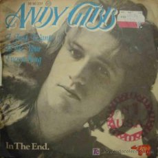 Discos de vinilo: ANDY GIBB : I JUST WANT TO BE YOUR EVERYTHING; IN THE END. 1977. RSO 20 90 237. Lote 12259059