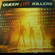 Discos de vinilo: QUEEN ( LIVE KILLERS )DOBLE LP DOBLE CARPETA ESPAÑA 1979. Lote 14206929