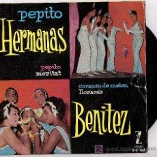 Discos de vinilo: HERMANAS BENITEZ. Lote 12238699