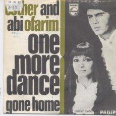 Discos de vinilo: ESTHER Y ABI OFARIM,ONE MORE DANCE DEL 68. Lote 12239655