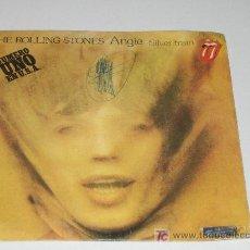 Discos de vinilo: ROLLING STONES - ANGIE . Lote 12310919