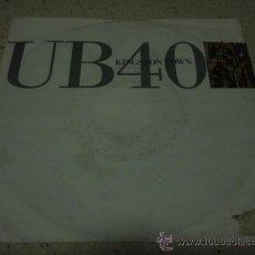 Dischi in vinile: UB40 ( KINGSTON TOWN - LICKWOOD ) GERMANY-1990 SINGLE45 VIRGIN. Lote 12275894