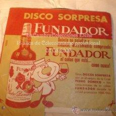 Discos de vinilo: DISCO SINGLE DISCO SORPRESA FUNDADOR, AÑO 1964.. Lote 12284420