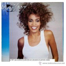 Discos de vinilo: WHITNEY HOUSTON -LP WHITNEY CON ENCARTE LETRA DE CANCIONES 1987 SPA. Lote 12287194