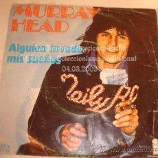 Discos de vinilo: DIFICIL DISCO SINGLE MURRAY HEAD, AÑO 1976.. Lote 12288068