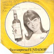 Discos de vinilo: DISCO SORPRESA FUNDADOR : CUANDO DIGO QUE TE AMO - MELACHOLIE - BANG BANG - ESTAS BOTAS SON PARA CAM. Lote 12296435